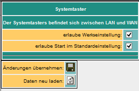 System start options