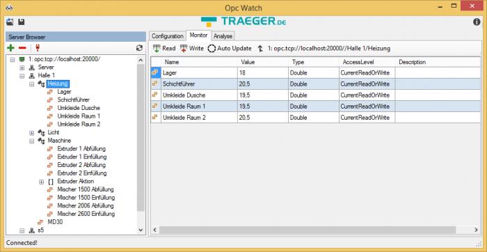 S7 OPC-UA Server - TRAEGER Docs